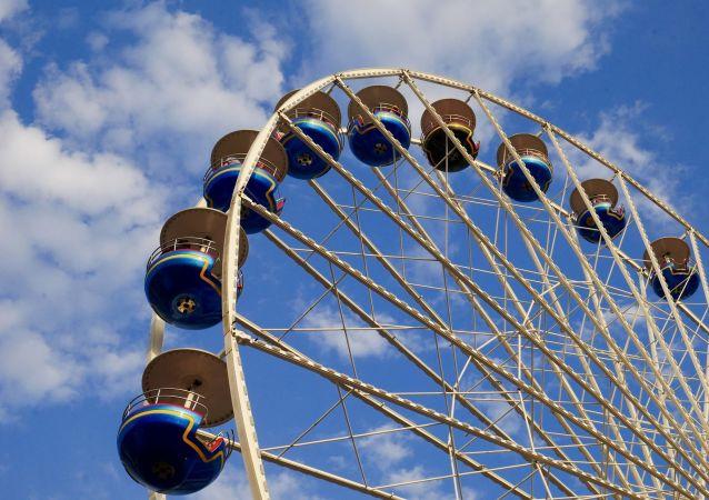 莫斯科政府:俄首都正在建造140米高的摩天輪