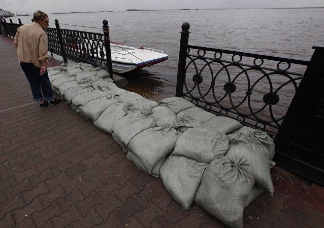哈巴羅夫斯克洪水