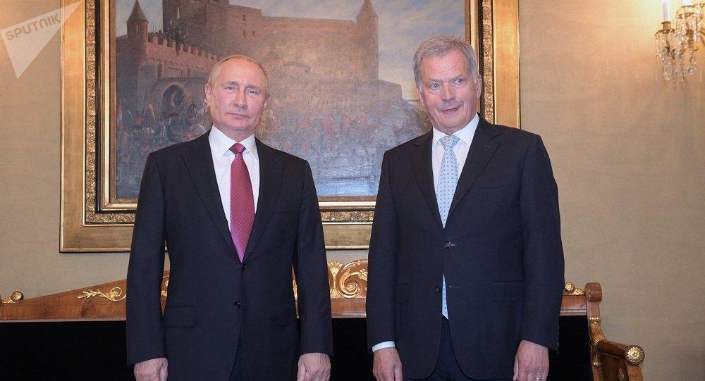 普京21日擬與芬蘭總統討論雙邊及國際問題