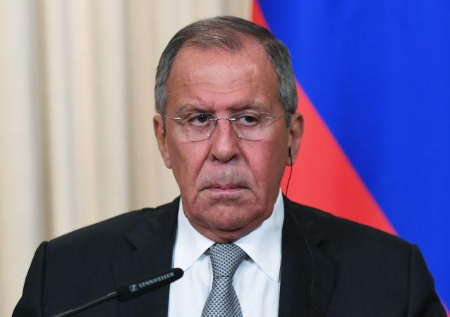 俄羅斯聯邦外長謝爾蓋∙拉夫羅夫