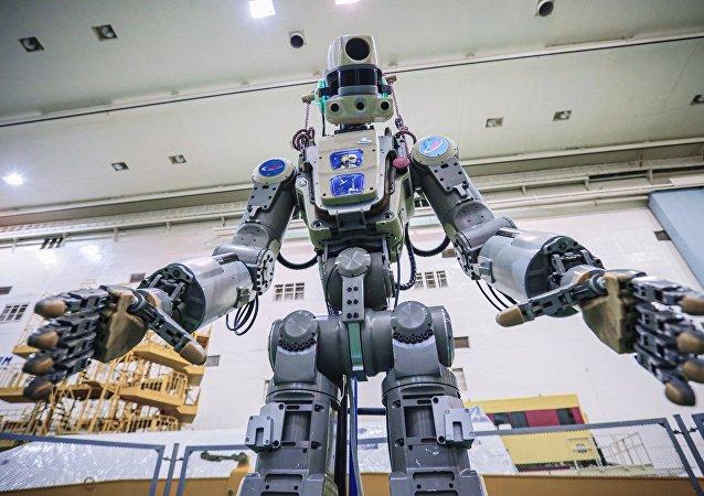 俄羅斯的機器人「菲奧多爾」