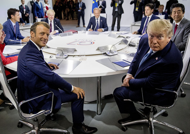 特朗普在G7峰會上被問到最多的問題