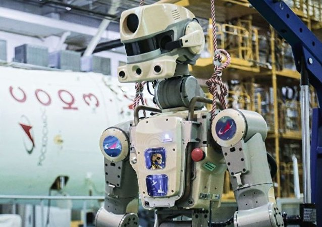 機器人「費奧多爾」成為俄羅斯國家航天集團商標
