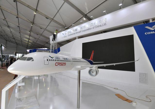 中國商飛公司:中俄CR929寬體客機首次亮相莫斯科航展