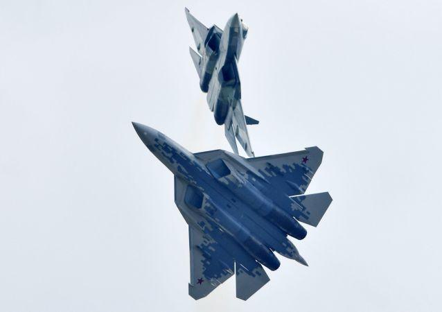 西方雜誌指出蘇-57戰鬥機新買家