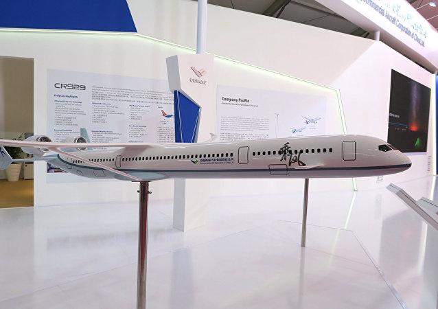 俄中CR929寬體客機最早或於2025年開始交付