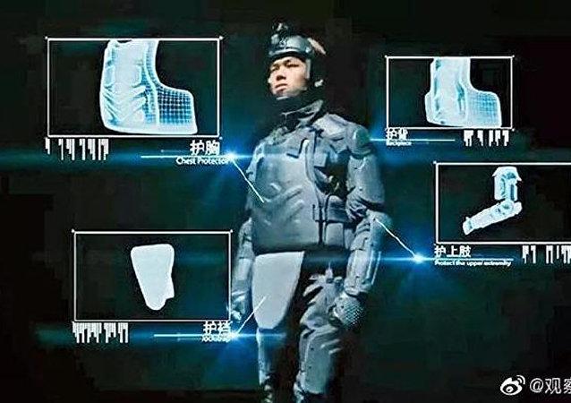 香港警方從大陸購買防護裝備