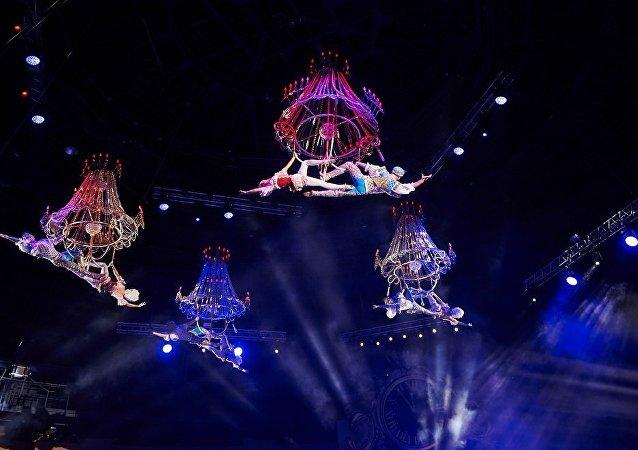 俄羅斯演員將參加第六屆中國國際馬戲節