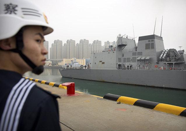 中國海軍不斷積累保護在非經濟利益的經驗