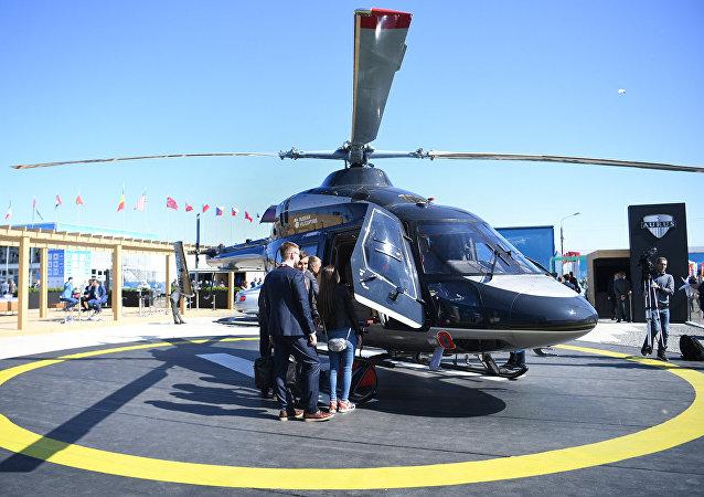 「安薩特」(Ansat)直升機
