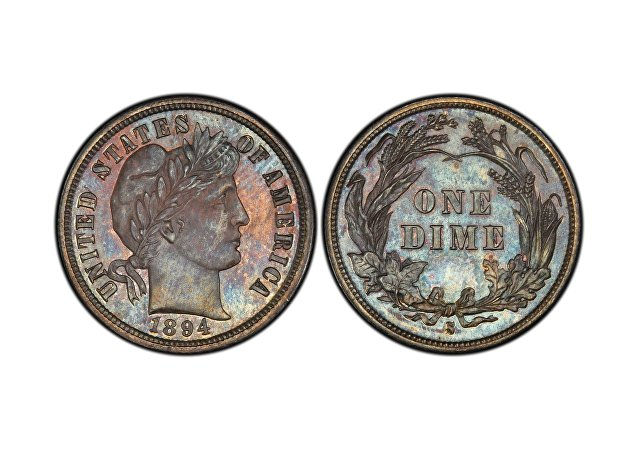 巴伯10美分硬幣 (1894-S Barber dime)