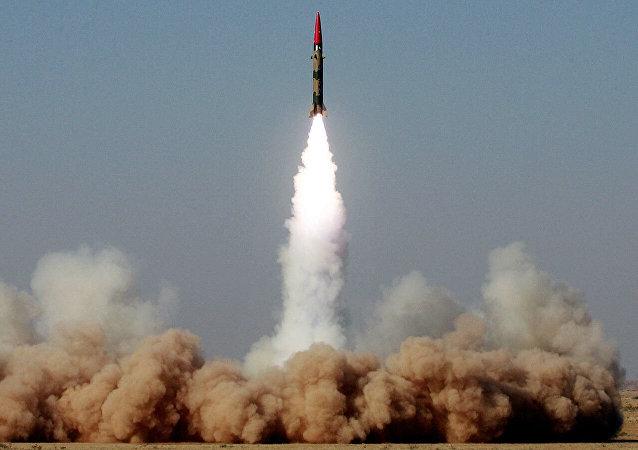 巴基斯坦成功試射導彈