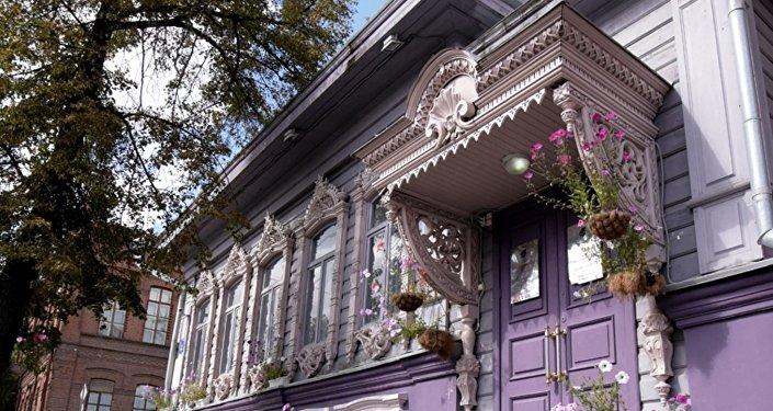 秋明市奇拉洛夫商家故居-19世紀木質建築遺跡之一