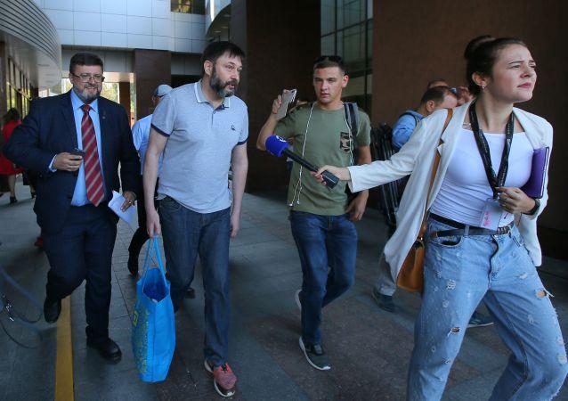 克宮認為基輔法院決定釋放「俄新社烏克蘭」網站負責人是烏方採取的具體舉動
