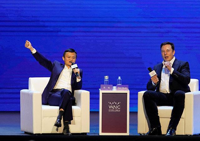 中國專家就馬雲和馬斯克的演講發表評論