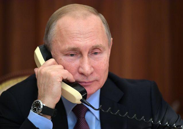 普京通過電話向默克爾介紹俄土達成的協議