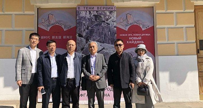 北京藝術家書畫展在莫斯科開幕