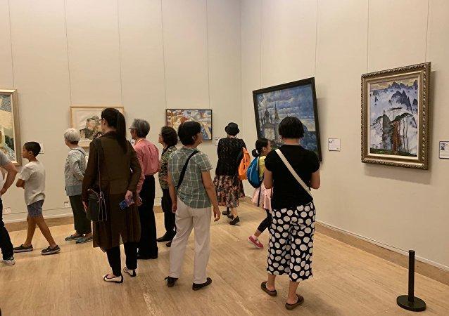 上合組織成員國的藝術家亮相北京國際美術雙年展