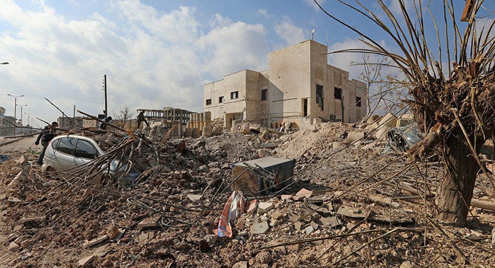 敘利亞軍隊在伊德利卜省的山洞內發現大型恐怖分子基地