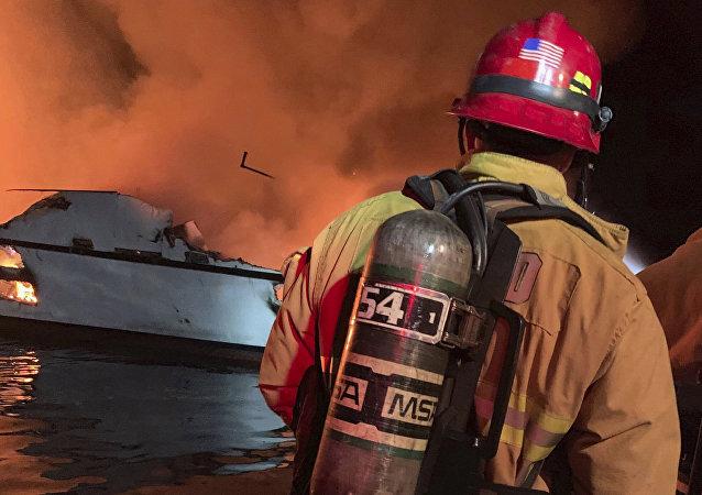 美國加州船隻起火事件又發現4名遇難者