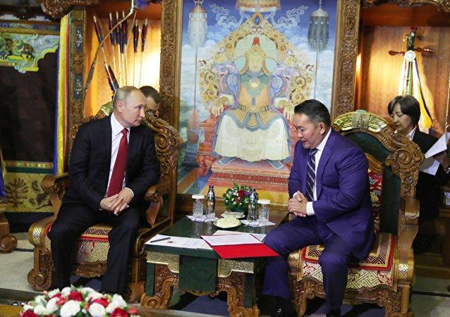 俄羅斯和蒙古國簽訂友好和全面戰略夥伴關係條約