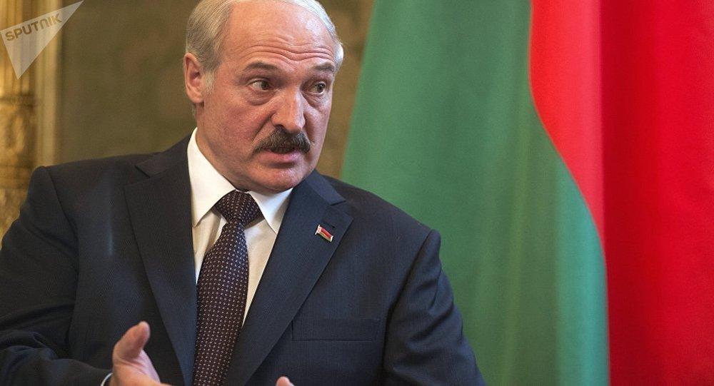 白俄羅斯領導人盧卡申科