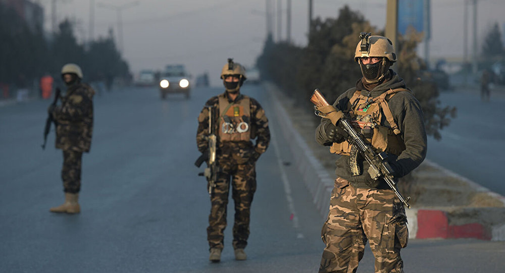 阿富汗軍人