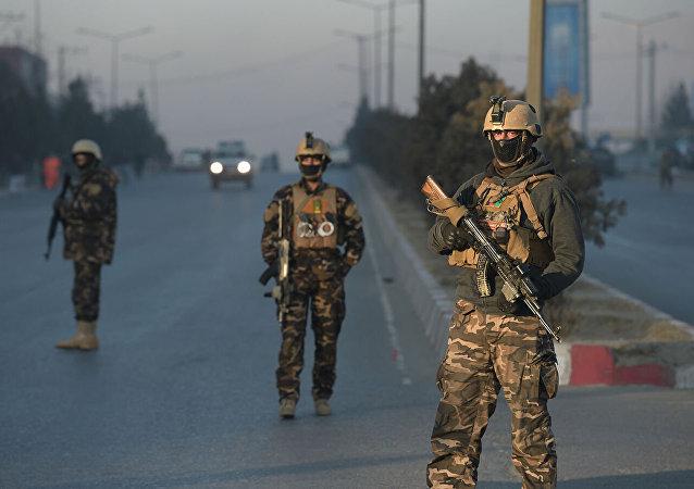 阿富汗軍方