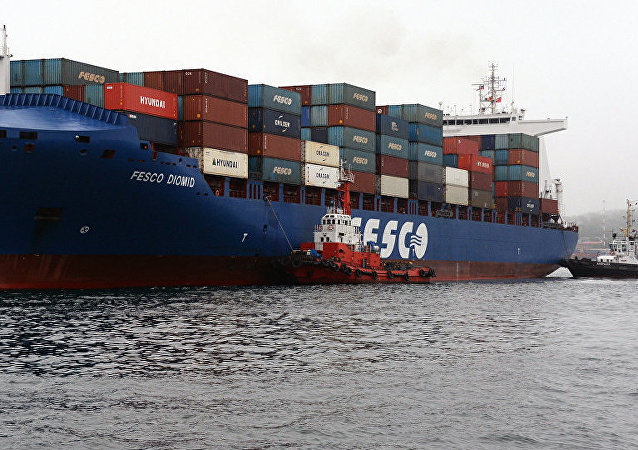 Грузовое судно FESCO