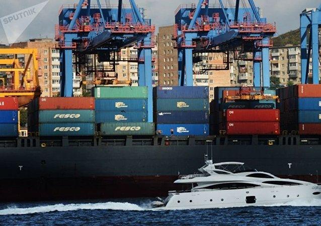 俄遠東海洋運輸集團開闢連通中國的新線路