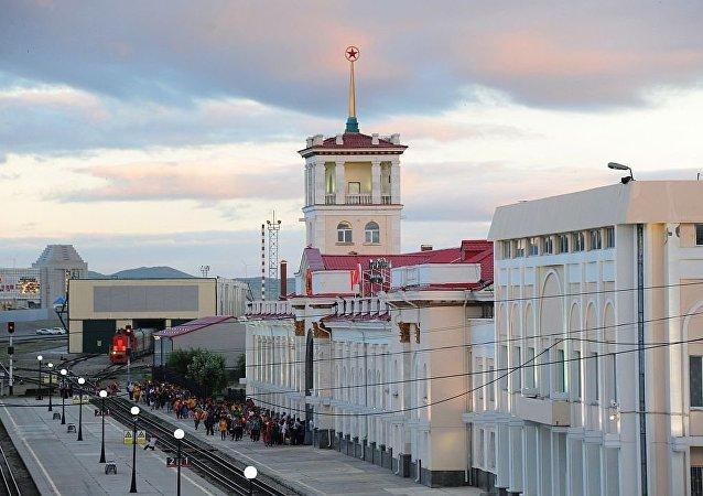 外貝加爾斯克火車站
