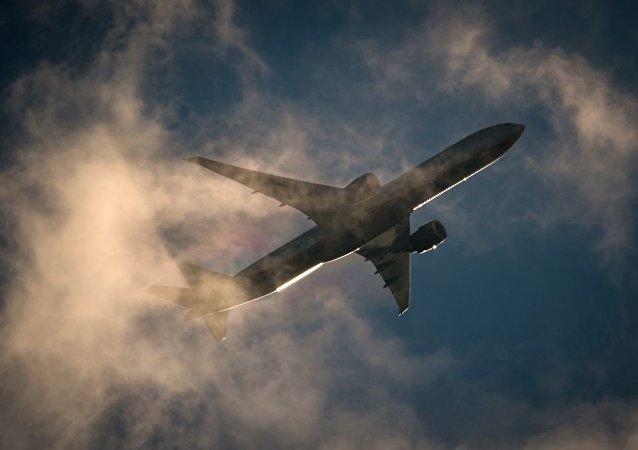 加拿大航班因冠狀病毒的玩笑返回起飛機場