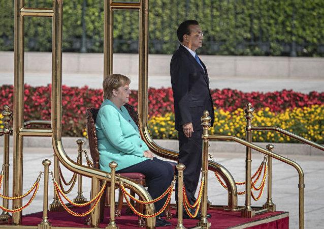 外媒:德國準備保護中國企業免受歐盟和美國打壓