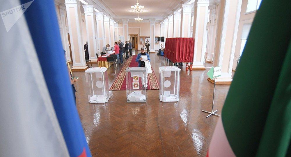 俄羅斯將於9月13日舉行統一投票日