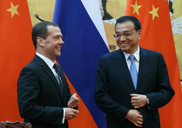 俄中兩國總理將磋商兩國經貿合作前景