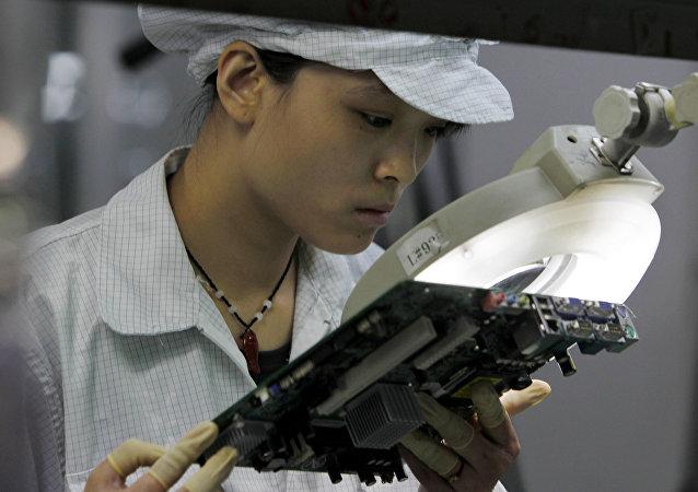 蘋果和富士康承認在中國雇傭了太多的臨時工