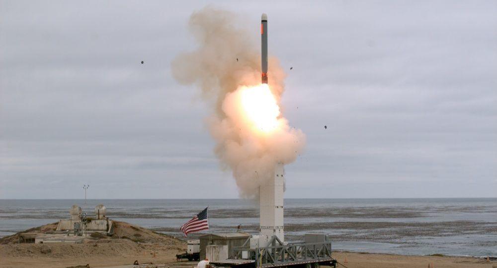美國導彈發射