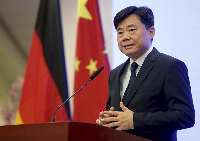 Wu Ken посол Китая в Германии