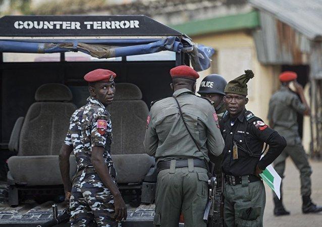 尼日利亞警員