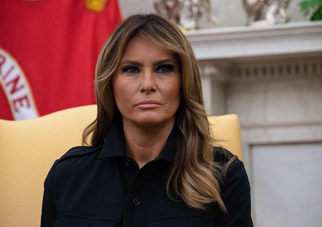 美國總統夫人梅拉尼婭∙特朗普