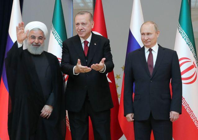 普京:俄土伊三國敘利亞問題安卡拉峰會富有成果