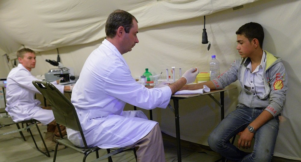 俄羅斯醫生5年內救助11萬敘利亞人