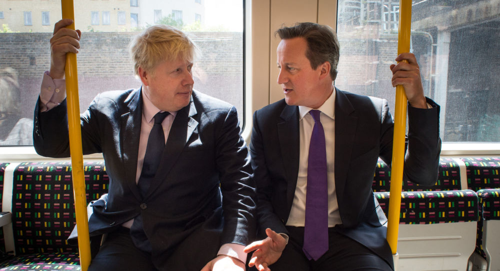英國前首相戴維·卡梅倫在回憶錄中稱現任首相鮑里斯·約翰遜為撒謊者和野心家