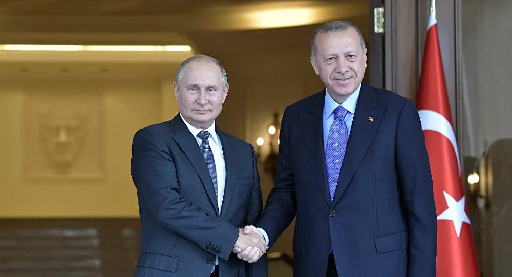 俄土總統在通話中指出敘利亞統一和領土完整的重要性