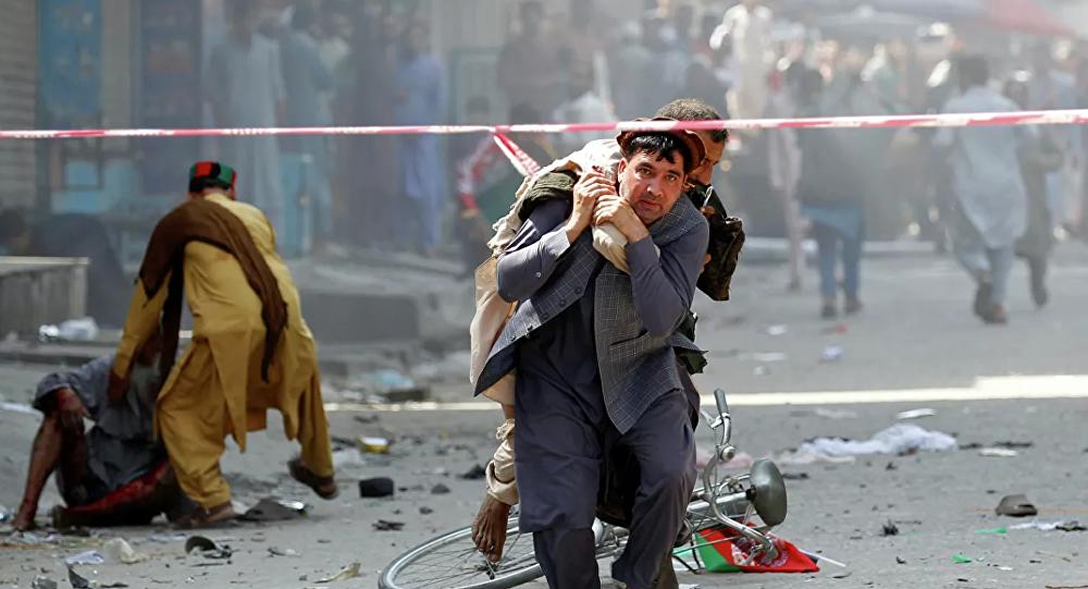 阿富汗總統演講場地附近發生爆炸 至少24人死亡