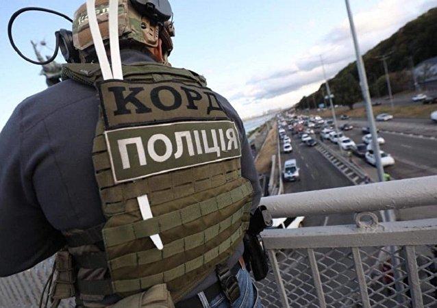 基輔一名威脅要炸毀橋梁的男子開槍