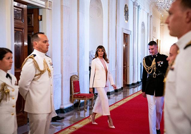 美國第一夫人梅拉尼婭重新裝修白宮