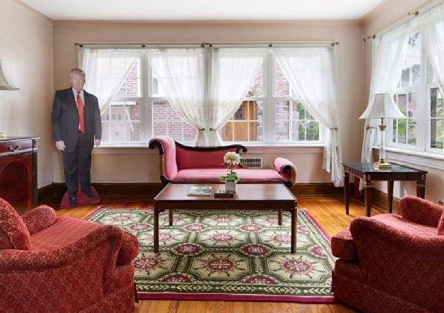 特朗普童年居住的紐約老宅公開拍賣