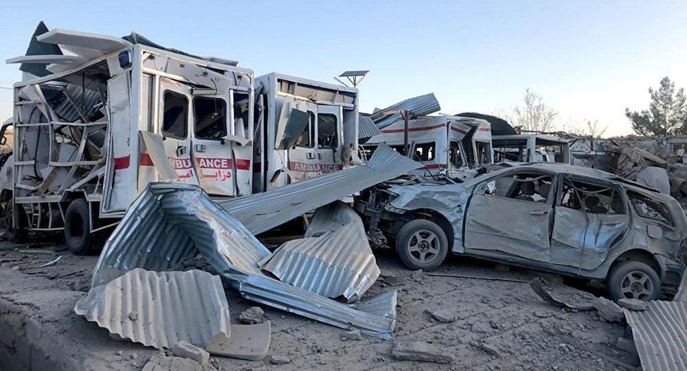 媒體:阿富汗南部發生爆炸致4死6傷