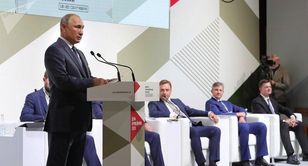 普京:國防工業的有效發展是發展整個俄經濟的重要因素